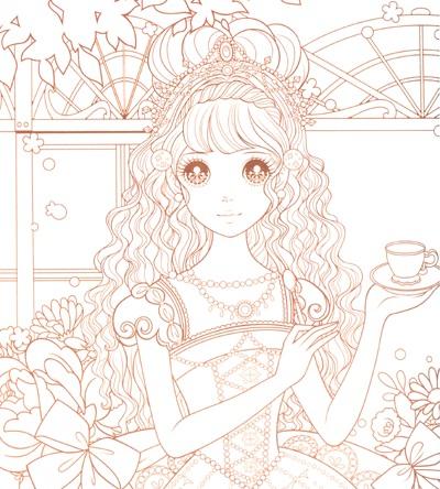《公主涂色》系列