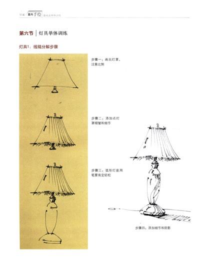 《室内手绘基础及单体训练》