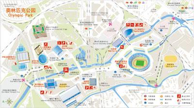 伦敦旅游地图