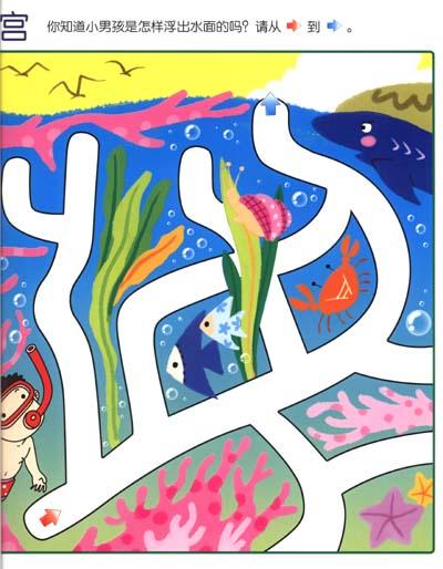 金童良书:全脑开发大图迷宫(2-3岁入门)
