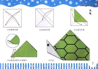 谁知道哪里有折纸鲨鱼头的方法?