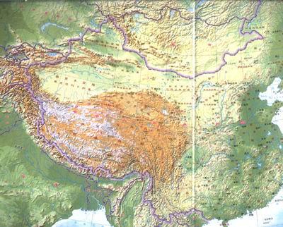地理学习图典:中国地图