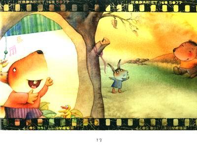 快乐故事(1):快乐的小松鼠