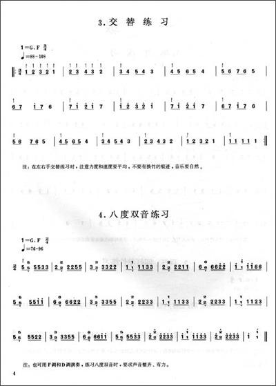 五木摇篮曲(日本民谣) 八级 1.凤凰于飞 2.乌苏里船歌 3.丝路掠影 4.