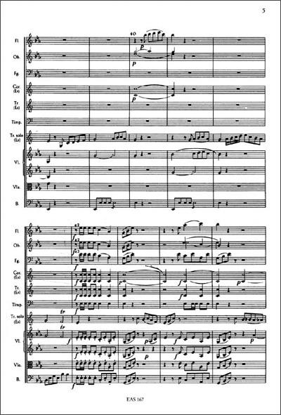 海顿:降e大调小号协奏曲d大调大提琴协奏曲(附光盘)