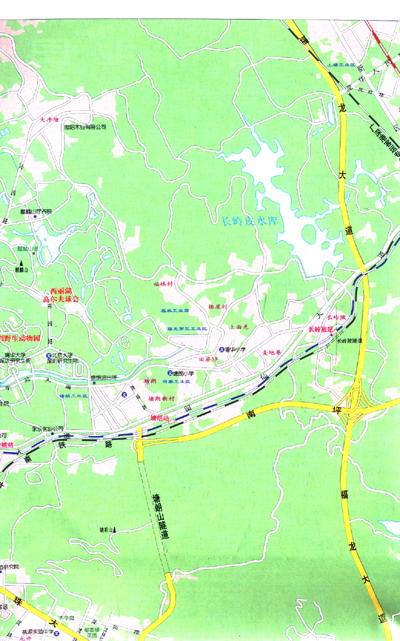 深圳指南地图图片
