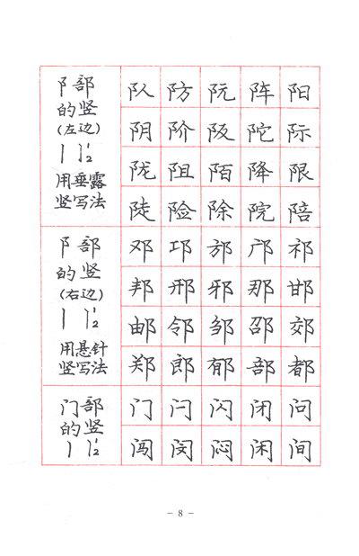 《庞中华硬笔书法经典字帖:庞中华楷书规范字帖》()