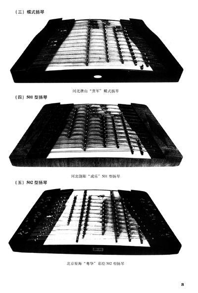 扬琴的结构名称 二图片