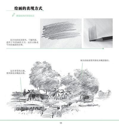 《一日一画·素描:美丽风景》(李小燕)【摘要