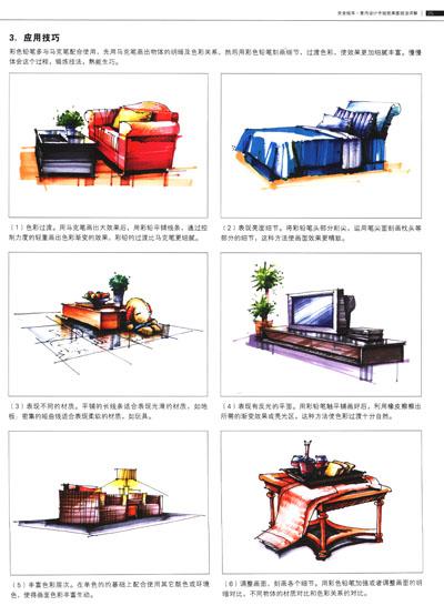 京东商城 完全绘本:室内设计手绘效果图技法详解