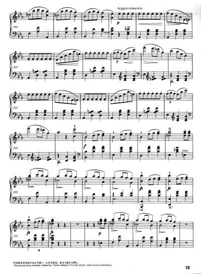 钢琴全集11 圆舞曲A 波兰国家版