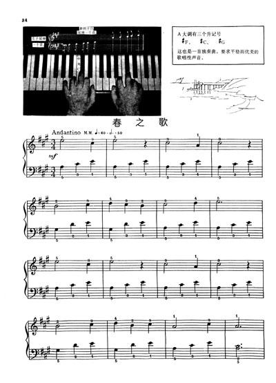 约翰·汤普森现代钢琴教程1图片