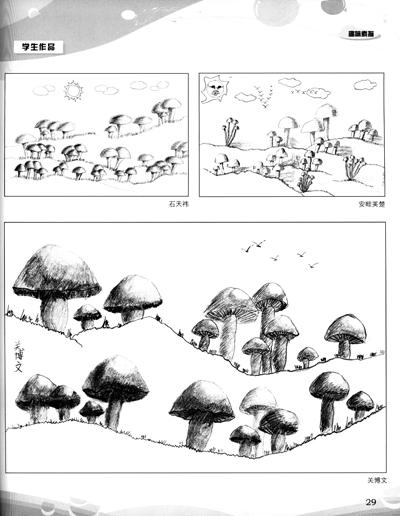 趣味素描:少儿铅笔素描入门报价