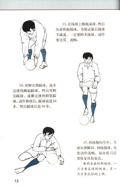 运动技术图解丛书:足球守门员技术图解
