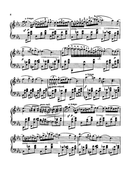 献给爱丽丝 七音曲谱