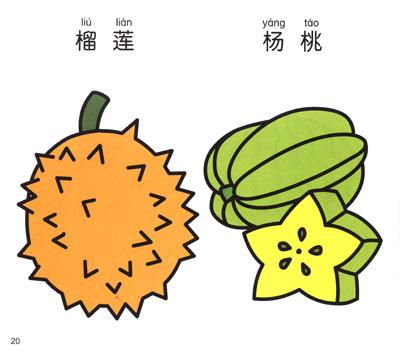 小手握笔·幼儿简笔画:水果·蔬菜图片