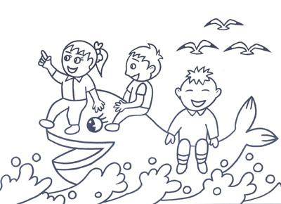 爱画画爱填涂 人物篇油画棒与水粉画教程