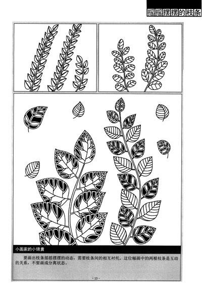 《儿童美术基础教程:线描画》(王兆慈)【摘要图片