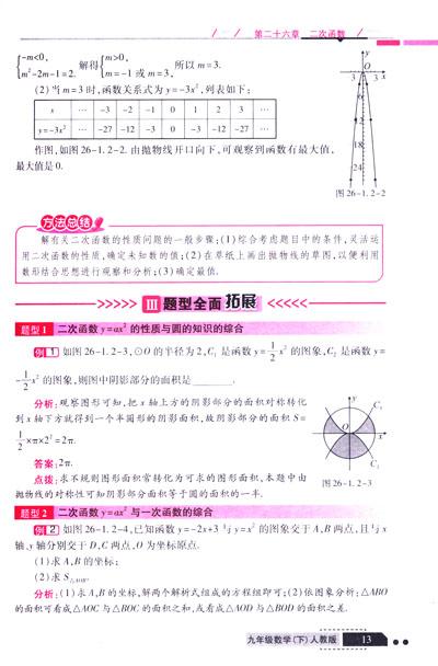 初中人教版数学《二次函数》知识点总结