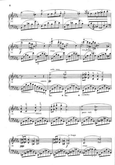 肖邦叙事曲小提琴谱