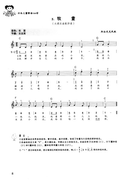 《电子琴经典:中外儿童歌曲100首》(万宝柱)【摘要