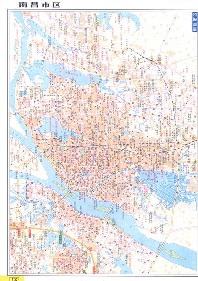 江西抚州市区地图 图片合集图片