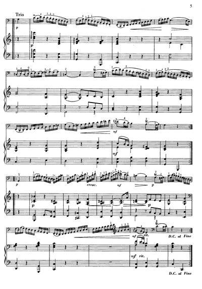 风笛舞曲钢琴曲莫扎特简谱分享展示