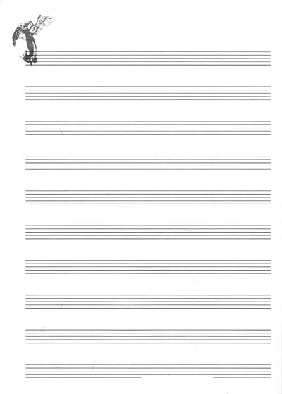 五线谱练习本,十二行谱子,间距大,用得实在. 五线谱本 五线谱本 ¥5.