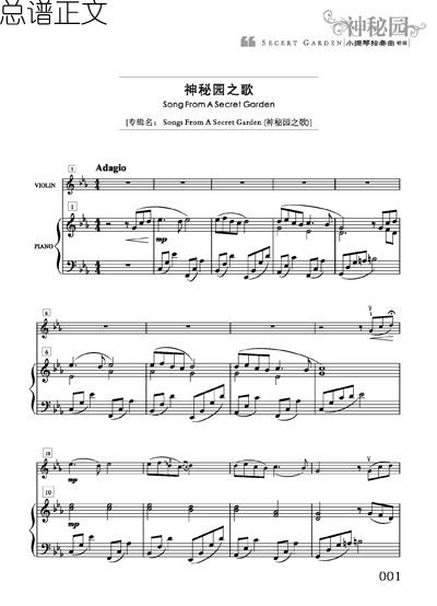 神秘园经典小提琴曲 思亲曲 触动心灵的旋律