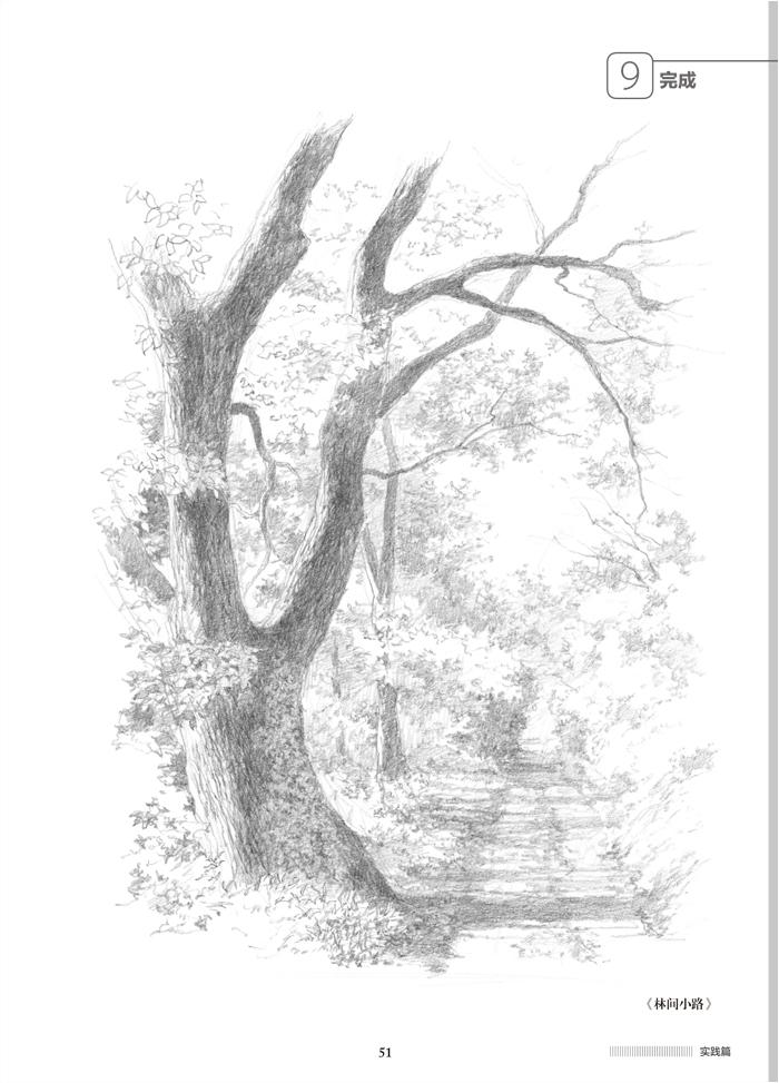 风景素描入门--野村重存教你画 (日)野村重存 中国水利水电 正版图书