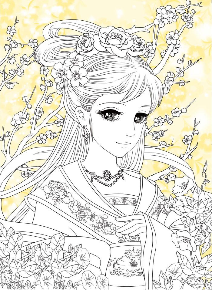 《古典美人》:以中国古代各朝代的服饰,发型为展示重点,美少女或