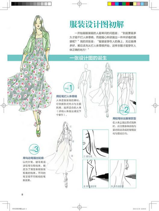 服装设计图初