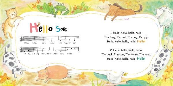 儿歌配五线谱,音乐系专家审读乐谱,学习音乐的孩子可以依据乐谱弹奏出
