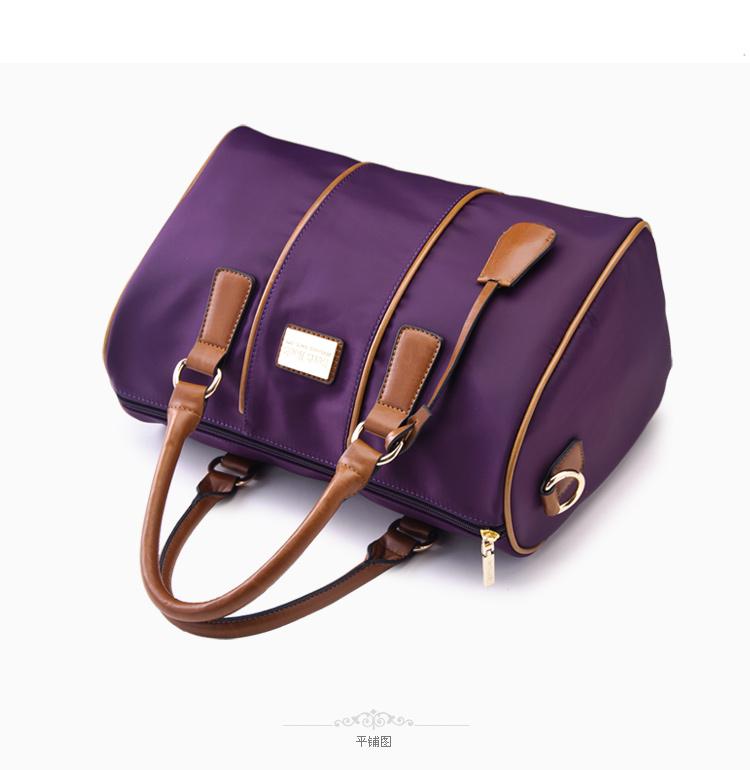 紫魅bensjiaos热卖新款手提女包包韩版休闲斜挎包