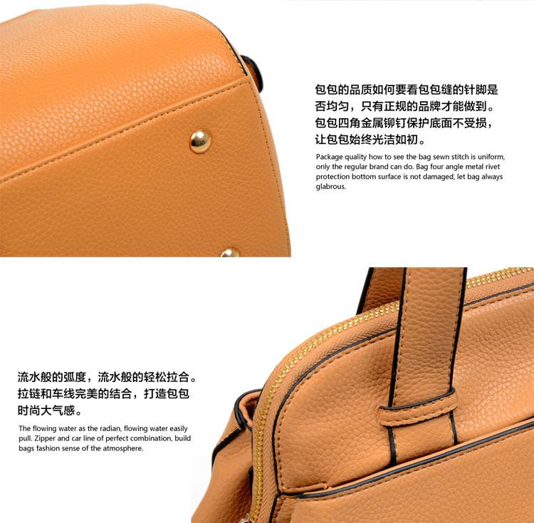 包包欧美时尚品牌真皮单肩斜挎手提女包