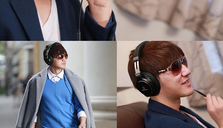 铁三角 ath-msr7 msr7 耳麦 耳机 通话耳机 头戴耳机 重低音耳机 时尚耳机 铁三角耳机
