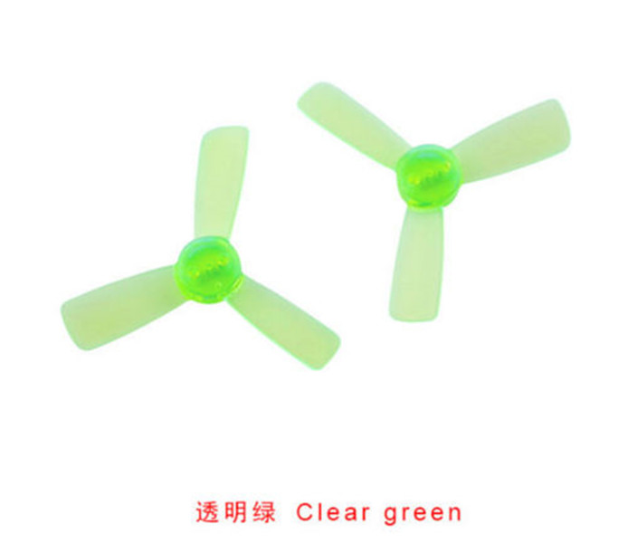 10 Pairs 1935 Clear Propeller 2 Inch CW CCW 3-blade Props for Q90 KINGKONG 90GT FPV Drone