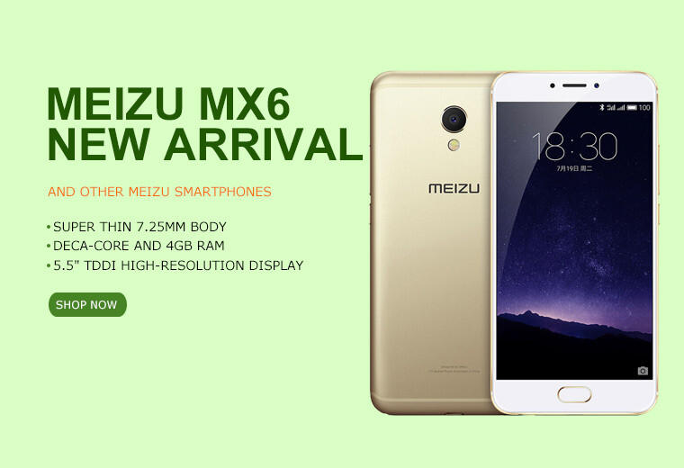 Buy Meizu MX6 online at a special price now
