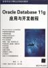 高等学校计算机应用规划教材:Oracle Database 11g应用与开发教程 oracle rac 11g купить