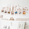 Зеленый тростник третьего поколения можно удалить DIY декоративные наклейки стены стены стены Европы и Соединенных Штатов Строительство AY9011 пожертвовал кухню анти-масляной пастой 2