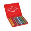 Faber-Castell цветной карандаш-60 с растворимостью в воде в металлической коробке faber orizzonte eg8 x a 60 active