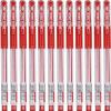 Baoke (Baoke) 880E (0,7 мм) экономической и практической Европейский стандарт гелевая ручка красный 12 / коробка baoke baoke s20 красивая ручка каллиграфии перо письма 12 коробка