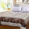 Плющ постельное белье домашний текстиль двойные листы однослойные хлопковые одеяла 1,5 кровати / 1,8 кровати 230 * 250 (Представьте себе жизнь)