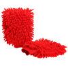 Автомобильные поцелуи универсальные перчатки синели коралловые автомойки автомобильные перчатки красные * 2