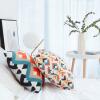 Бай Цзя Глэдис подушка подушки подушки диванные подушки офиса автомобиля талии подушки кровати Спинка с геометрическим ядром этнической 45 * 45см] [Jingdong собственным брендом
