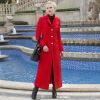 DF · RS Осеннее и зимнее длинное толстое пальто из хлопка с мягким пальто длиной до колена зимнее пальто 2014 фото новинки и где