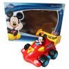 Disney Disney электрический автомобиль игрушки дистанционного управления 2.4G умный пульт дистанционного управления аудио автомобиля Микки красный (со звуком и световыми эффектами) MC36B машинки hti паровозик roadsterz синий с вагоном звуковыми и световыми эффектами