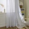 Современные полосатые тюлевые занавески для гостиной Окно Скрининг Voile Sheer Curtains для гостиной Спальня Детские шторы