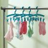 [Супермаркет] Jingdong Европа Юн Чул высокое качество Тайвань сделанных носков сушки стеллажи зажим 6 5 синее платье