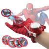 капитан америка удивительный человек - паук 2 железный человек перчатки мультфильм детей игрушки передатчик железный человек 2